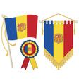 andorra flags vector image vector image