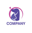 animal pet logo vector image vector image