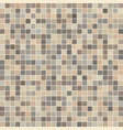 brown ceramic tile mosaic vector image vector image