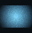 hexadecimal code blue background big data vector image