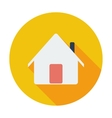 Home single icon vector image vector image