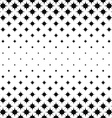 Seamless monochrome star pattern vector image vector image
