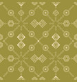 seamless repeat pattern vector image vector image