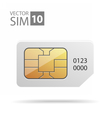 SimCard06 vector image vector image