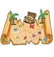 Pirate treasure chest - vector image