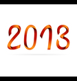 2013 ribbon design vector image vector image