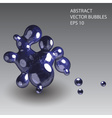 abstract bubbles eps10 vector image