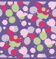 blot ultra violet seamless pattern vector image vector image