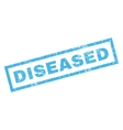 Diseased Rubber Stamp vector image vector image