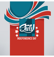 independence banner vector image vector image