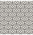 seamless black and white arc shape line