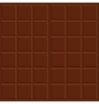 Chocolate seamless texture vector image