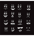 emoticon emoji icon design vector image