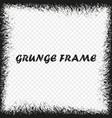 grunge frame distress background vector image vector image