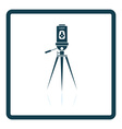 Laser level tool icon vector image vector image