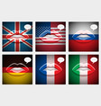 learning languages concept vector image