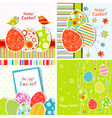Template easter greeting vector | Price: 1 Credit (USD $1)