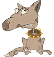 The hunting dog vector image vector image