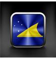 Tokelau flag icon See also version vector image vector image