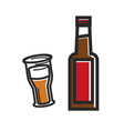 traditional british beer high quality vector image