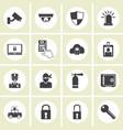 crime world symbols set vector image