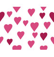 beauty love seamless vector image vector image