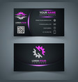 business template idea for your print vector image