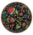 Floral traditional russian pattern