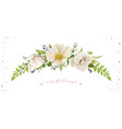 Flower bouquet design object element light pink
