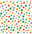 pattern design set two on white background vector image vector image