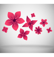 papar craft objects vector image