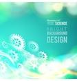 Glow gears vector image