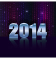 New 2014 year holiday background with copy space vector image vector image