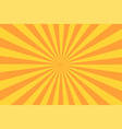 retro sunburst ray in vintage style abstract vector image vector image