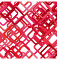 seamless abstract square pattern background vector image vector image