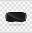 vr virtual reality glasses vector image