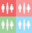 1408 Toilet icon vector image
