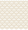 abstract gold and white seamless pattern vector image vector image