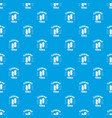 cleaning tools pattern seamless blue vector image vector image