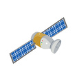 Communication satellite icon vector image vector image