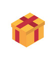 ecommerce business internet gift box icon vector image vector image