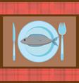fish food fresh nutrition image vector image vector image
