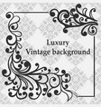 luxury ornamental background vector image