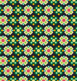Pattern squares and circles vector image vector image