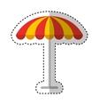 restauran table fast food vector image vector image