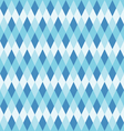seamless blue abstract mosaic background vector image vector image