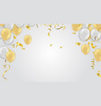stock realistic defocused golden vector image