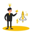 business people startup vector image