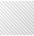 abstract white striped pattern background vector image
