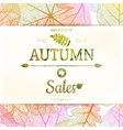 Autumn sale background EPS 10